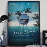 Palm Beach Poster design