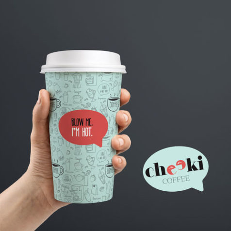 great coffee cup design